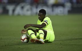 Dàn sao Barca nếm 'trái đắng' đầu tiên trong mùa giải