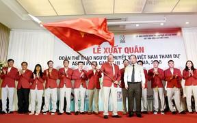 Đoàn TT người khuyết tật Việt Nam xuất quân tham dự Asian Para Games 2018