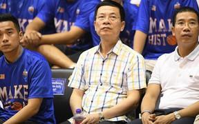 Quyền Bộ trưởng Nguyễn Mạnh Hùng dự khán chung kết VBA 2018