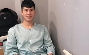 Đình Trọng nhận được sự quan tâm từ Đại sứ Việt Nam tại Hàn Quốc