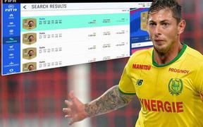 Nhiều game thủ FIFA 19 lợi dụng kiếm lời từ sự cố của cầu thủ Emiliano Sala