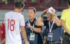 Bị thầy Park quát nạt ngay trên sân, tiền đạo trẻ tuyển Việt Nam lập tức ghi bàn đẳng cấp