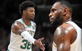 NBA 2019-2020 ngày 18/11: Boston Celtics đứt mạch toàn thắng, Los Angeles Lakers tiếp tục bay cao