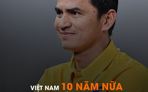 """Huyền thoại Kiatisuk: """"Bóng đá Việt Nam phát triển nhanh hơn tôi nghĩ nhưng chưa thể vượt qua Thái Lan"""""""