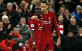 Nghiền nát Everton trong trận derby vùng Merseyside, Liverpool tiếp tục cho thấy phong độ hủy diệt tại Premier League năm nay