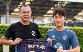 Chính thức: Xuân Trường ra mắt đội bóng mới, khoác số áo 21 tại Buriram United