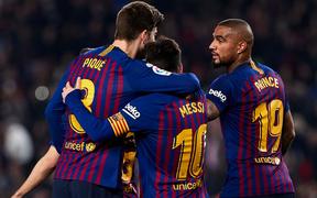 Messi lại đá hỏng phạt đền, Barcelona thắng chật vật trước đối thủ yếu hơn