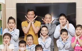 Trước thềm mùa giải mới Quế Ngọc Hải có hành động ý nghĩa với các trẻ em mắc bệnh hiểm nghèo