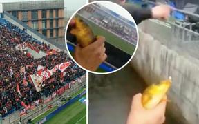 SVĐ độc nhất vô nhị: Vừa xem bóng đá, vừa có cá mang về