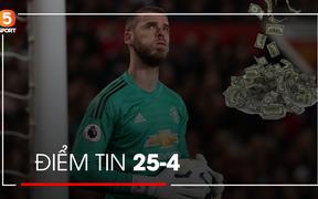 Tin bóng đá 25/4: Fan Liverpool tố De Gea bán độ, hàng loạt cầu thủ bị cấm bóng đá vĩnh viễn vì dàn xếp tỉ số