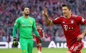 Trận siêu kinh điển nước Đức: Bayern Munich nuốt chửng Dortmund bằng 4 bàn ngay trong hiệp một