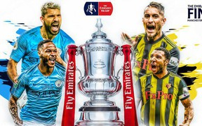 Lịch thi đấu bóng đá hôm nay (18/5): Man City đá chung kết giải đấu lâu đời nhất thế giới, đứng trước cơ hội ăn 4 chiếc cúp