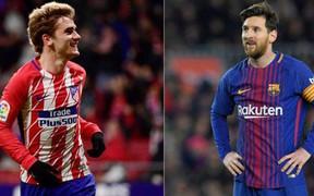 Lionel Messi chọn sao Manchester City thay vì Antoine Griezmann