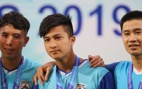 Martin Lo trầm tư khi Phố Hiến FC về Nhì tại giải hạng Nhất Quốc gia 2019