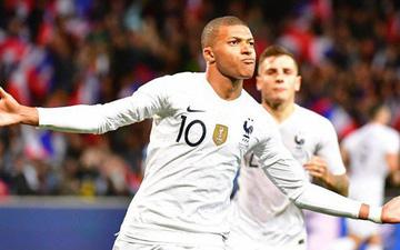 Nhà vô địch thế giới Pháp thoát thua hú vía nhờ bàn thắng phút 90 của Mbappe