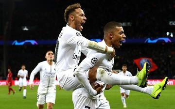 """Neymar ghi bàn và lập kỷ lục, PSG đẩy Liverpool đến sát """"cửa tử"""""""