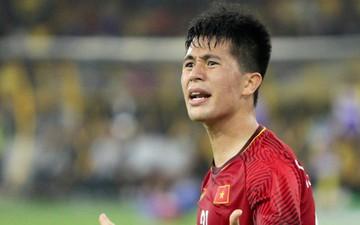 """Đình Trọng: """"Đội tuyển Việt Nam sẽ giữ vững tinh thần ở lượt về"""""""