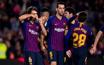 Chơi đội hình B, Barcelona vẫn dễ dàng có chiến thắng 4 sao