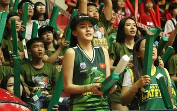 Fan nữ xinh đẹp tiếp lửa giúp Cantho Catfish đại thắng Saigon Heat
