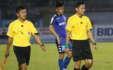 Trước khi quên rút thẻ đỏ, trọng tài Trần Văn Lập đã từng bị treo còi ở mùa giải 2017