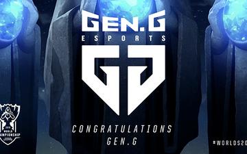 Đương kim vô địch Gen.G sẽ trở lại CKTG với tấm vé cuối cùng của khu vực LCK