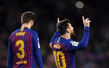 Barca đại thắng trong ngày Messi ghi bàn thứ 400 tại La Liga, Real chật vật chen chân vào top 4