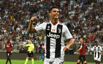 Ronaldo ghi bàn quyết định, cùng Juventus giành danh hiệu đầu tiên trong năm 2019