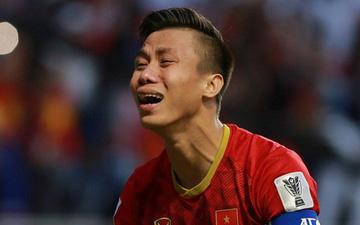 Quế Ngọc Hải khóc nức nở sau chiến thắng trước Jordan
