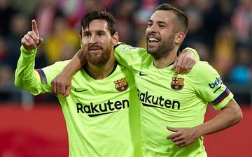 Chơi hơn người, Barcelona tiếp tục củng cố ngôi đầu La Liga bằng chiến thắng dễ dàng