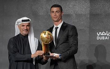Đánh bại 2 nhà vô địch World Cup, Ronaldo giành giải thưởng Cầu thủ xuất sắc nhất năm 2018