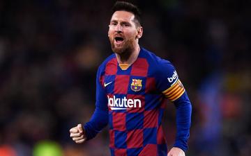 Messi lập cú đúp siêu phẩm sút phạt để cân bằng kỷ lục hat-trick với Ronaldo và giúp Barcelona giữ vững ngôi đầu La Liga
