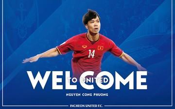 Công Phượng nhận áo số 23, sẵn sàng ra mắt Incheon United FC