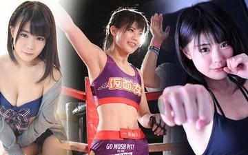 Nữ võ sĩ xinh đẹp nhất thế giới: Là thành viên của nhóm nhạc thần tượng, từng khóc như mưa khi bị đánh quá đau