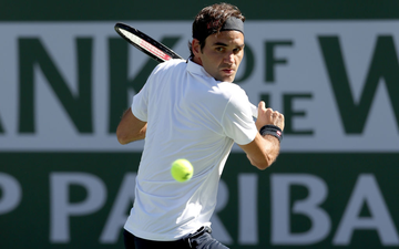"""Federer """"dạo chơi"""" vào tứ kết Indian Wells, còn cách đại chiến với Nadal 1 trận nữa"""