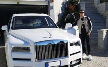 Ronaldo thêm một thành viên mới vào bộ sưu tập xế hộp trăm tỷ VNĐ