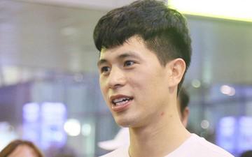 Vừa về Việt Nam sau 3 tháng xa nhà, Đình Trọng nói nhớ nhất Tiến Dũng
