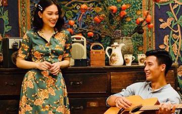 """Hình ảnh """"Chú bộ đội"""" Tiến Dũng ôm guitar hát cực ngọt mang phong cách vintage khiến fan trầm trồ"""