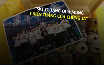 Người hâm mộ hiểu lầm SKT T1 bởi dòng trạng thái của Team Griffin khi nhận quà mừng chức vô địch LCK xuân 2019
