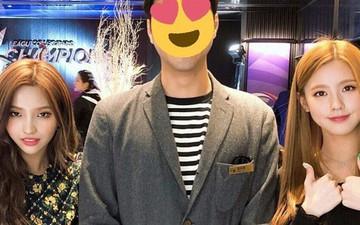 """""""Cạn lời"""" với cách ăn mặc của game thủ Hàn Quốc trong buổi tiệc có sự xuất hiện của hai mỹ nhân (G)I-DLE"""