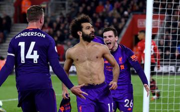 HLV Klopp đưa 'trò cưng' Salah lên tận mây xanh sau trận thắng Southampton