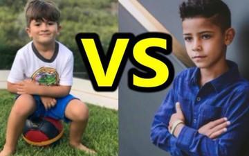 """Sự khác nhau cơ bản giữa con đầu lòng Ronaldo với con trưởng nhà Messi và câu hỏi: """"Làm con ai sướng hơn"""""""