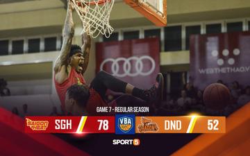 Thiết lập kỉ lục buồn ở hiệp 2, Danang Dragons vỡ trận trước đội chủ nhà Saigon Heat