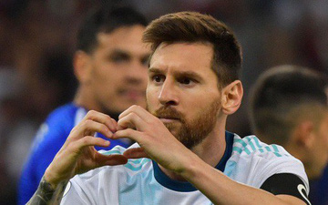 Messi chấm dứt nỗi ám ảnh trên chấm phạt đền nhưng Argentina tiếp tục đón nhận kết quả thất vọng