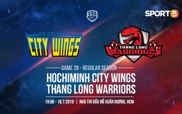 Thang Long Warriors sẽ thay đổi hay vẫn bó tay trước sức mạnh của Hochiminh City Wings?