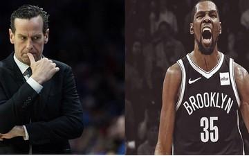 Kenny Atkinson thú nhận không thể tin khi thấy Kevin Durant ở Brooklyn Nets