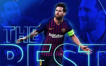 """Đánh bại Ronaldo và Van Dijk, Messi giành giải thưởng """"Cầu thủ hay nhất thế giới năm 2019"""""""