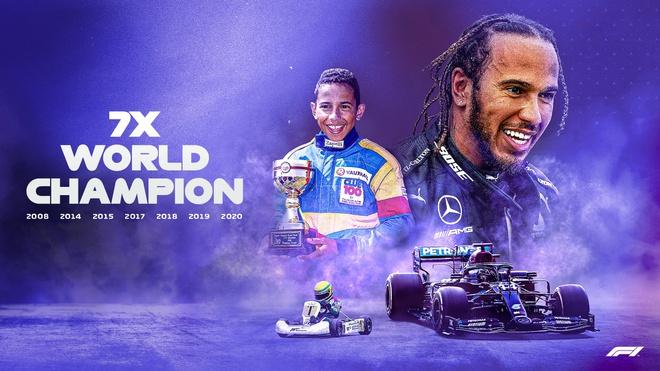 Lewis Hamilton rơi nước mắt trong ngày cân bằng kỷ lục 7 lần vô địch F1 thế giới của huyền thoại Michael Schumacher - Ảnh 3.