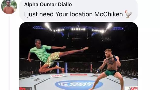 Cười bể bụng với màn cà khịa Conor McGregor của fan trên Facebook - Ảnh 4.