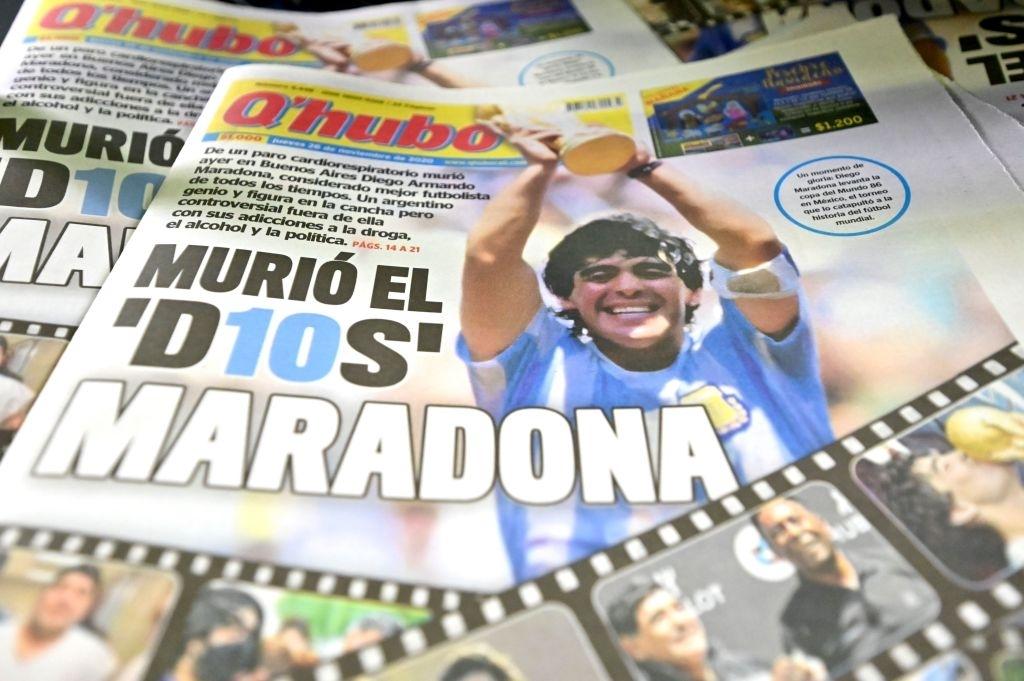 Xúc động bức họa tưởng nhớ Maradona trên nền căn nhà đổ nát giữa vùng chiến sự - ảnh 4