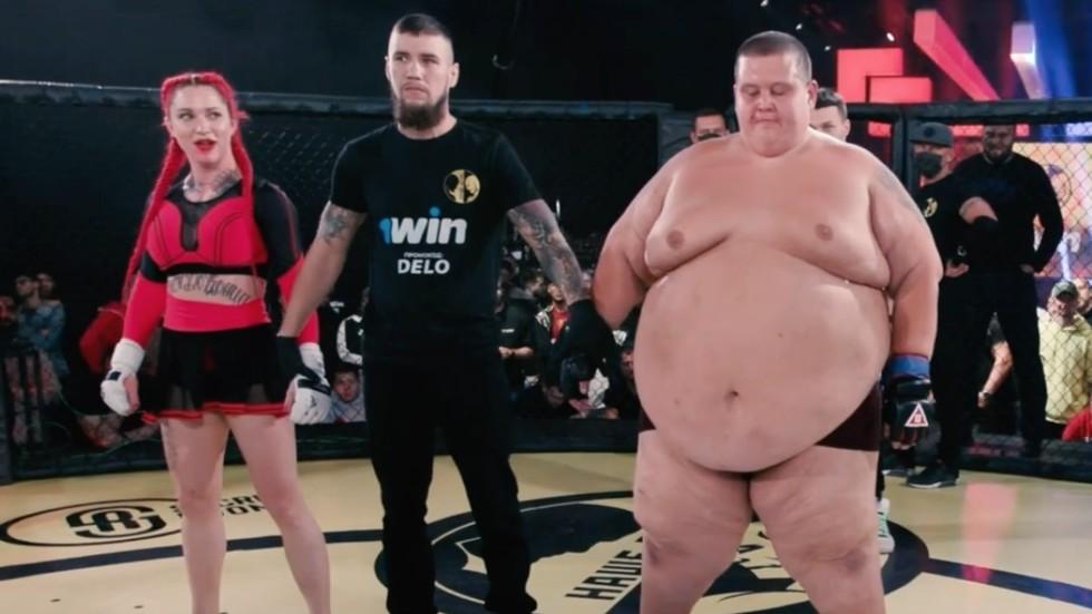 Nữ võ sĩ MMA gây sốt khi hạ đo ván đối thủ nam có trọng lượng lên tới 240 kg - Ảnh 2.